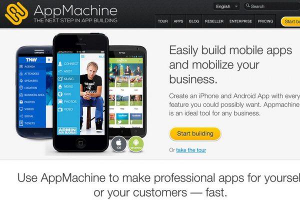 AppMachine ile Mobil Uygulama Yapma