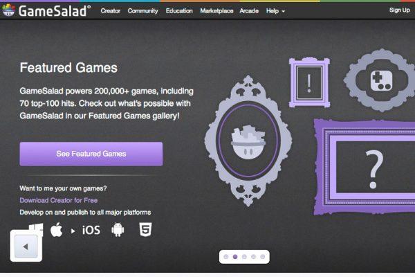 GameSalad ile Mobil Uygulama Yapma