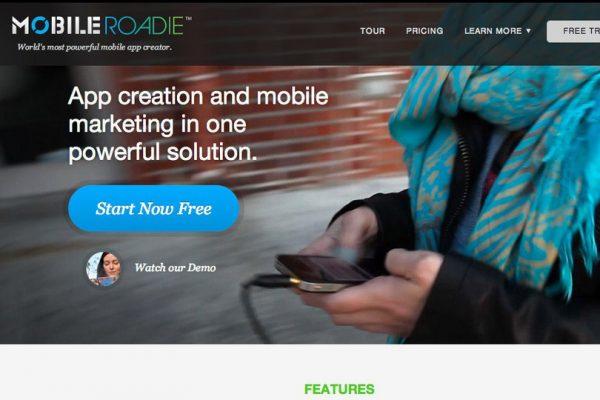MobileRoadie ile Mobil Uygulama Yapma