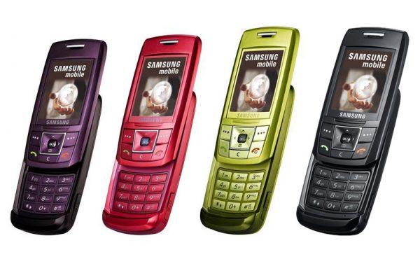Telefon Modelleri - Samsung E250