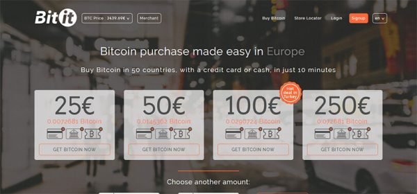 Bitit.io ile bitcoin satın al
