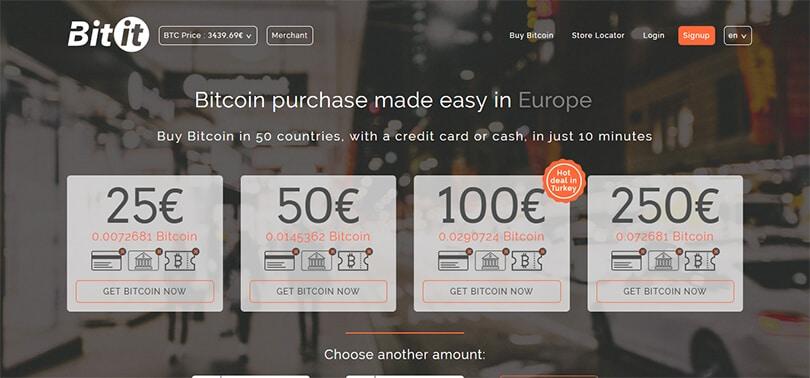 Bitit.io ile bitcoin satın alma