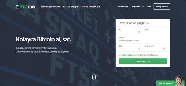 BTCTurk ile Bitcoin Nasıl Satın Alınır