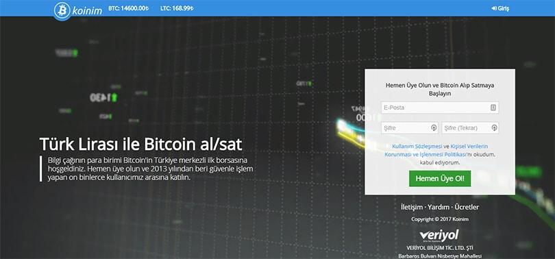 Koinim ile Bitcoin Nasıl Satın Alınır