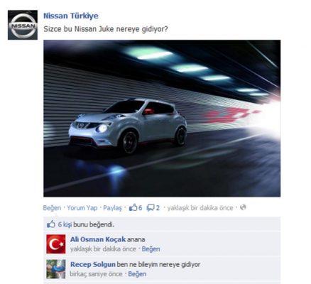 Markaların Sosyal Medyada Yaptığı Hatalar Nissan