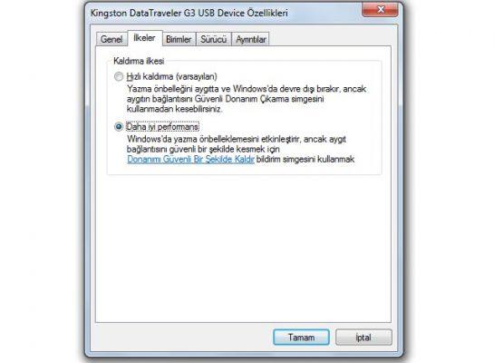 USB Belleklere Büyük Boyutlu Dosyaları Kopyalama