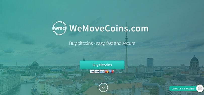 WeMoveCoins ile Bitcoin Satın Al