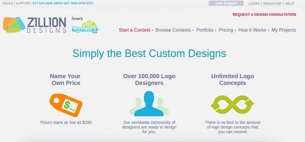 Zillion Designs ile Logo Yapmak